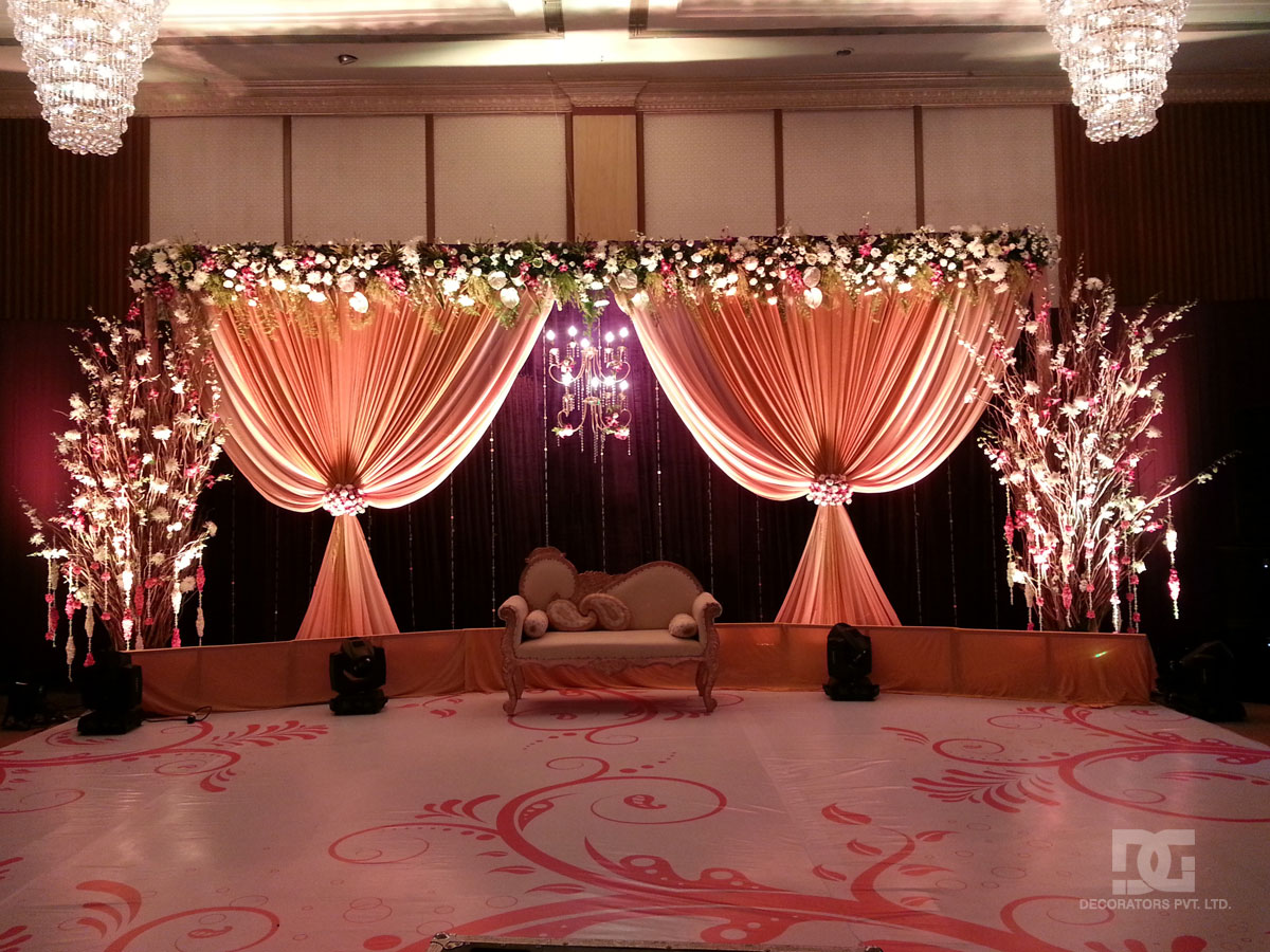 sangeet decor indoor